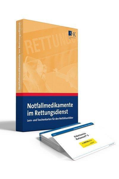 Notfallmedikamente im RettungsdienstLern- und Taschenkarten für den Notfallsanitäter