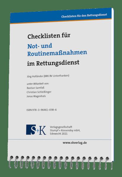 Checklisten für Not- und Routinemaßnahmen